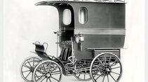 Das erste Nutzfahrzeug von Opel auf Basis des Patent-Motorwagens