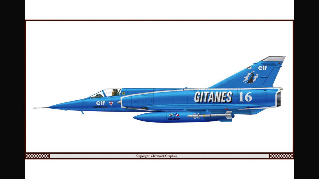 Dassault Mirage - Ligier - Racing-Planes - 2015