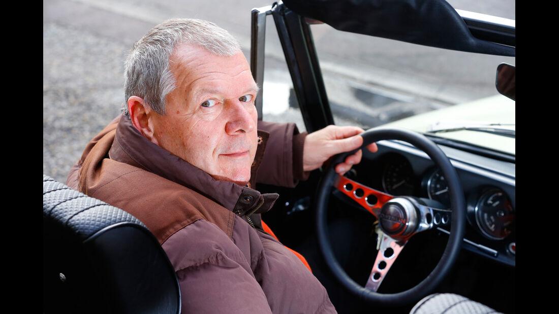 Datsun 1600 Sports, MGB MK II, Franz Peter Hudek