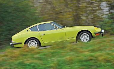 Datsun 240 Z, Seitenansicht