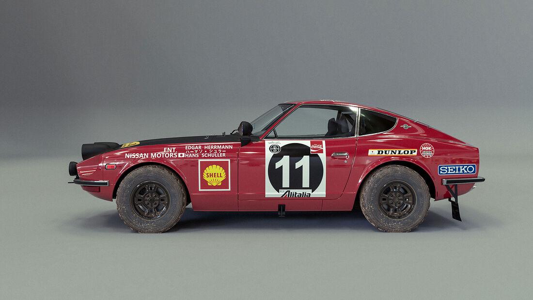 Datsun 240Z East African Safari Rally 1971