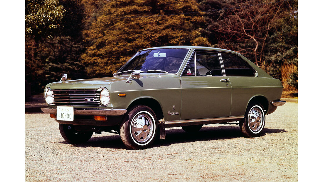 Datsun Sunny KB10 Coupé, 1968-1970