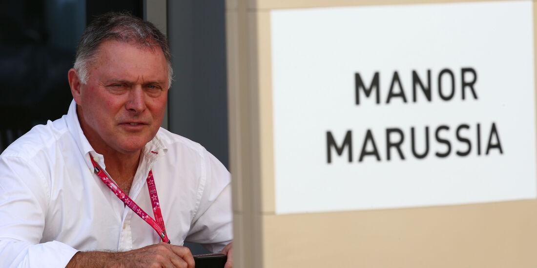 Dave Ryan - Manor Marussia - Formel 1 - GP Abu Dhabi - 26. November 2015