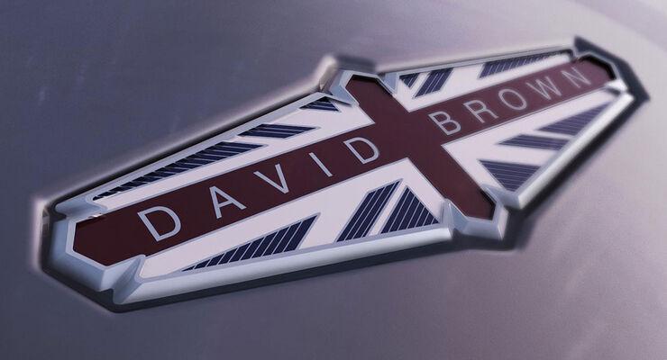 David Brown Automotive Logo Schriftzug