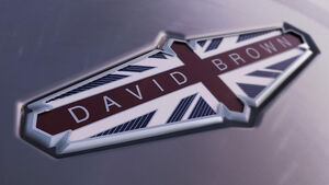 David Brown Automotive Logo Schriftzug