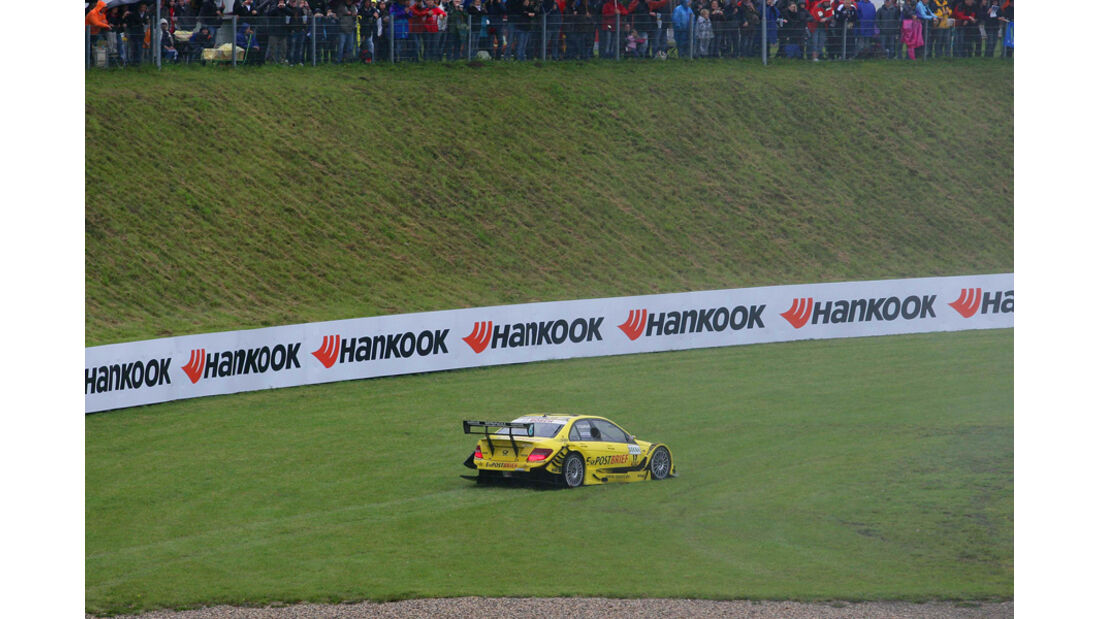 David Coulthard DTM Oschersleben 2011