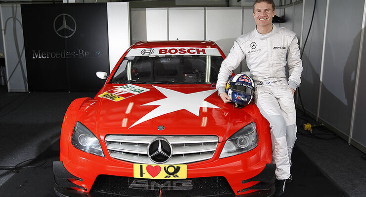 David Coulthard DTM Test Monteblanco Mercedes