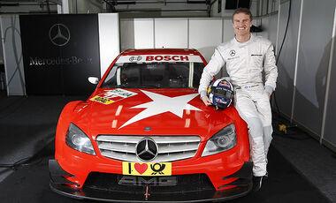 David Coulthard DTM Test Monteblanco Mercedes