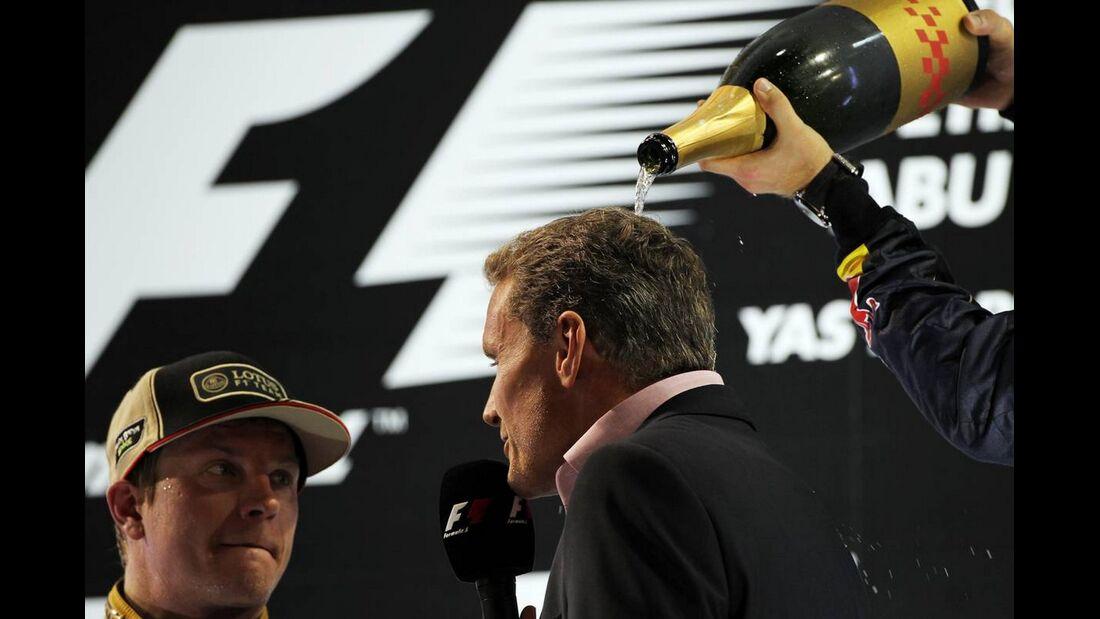 David Coulthard  - Formel 1 - GP Abu Dhabi - 04. November 2012