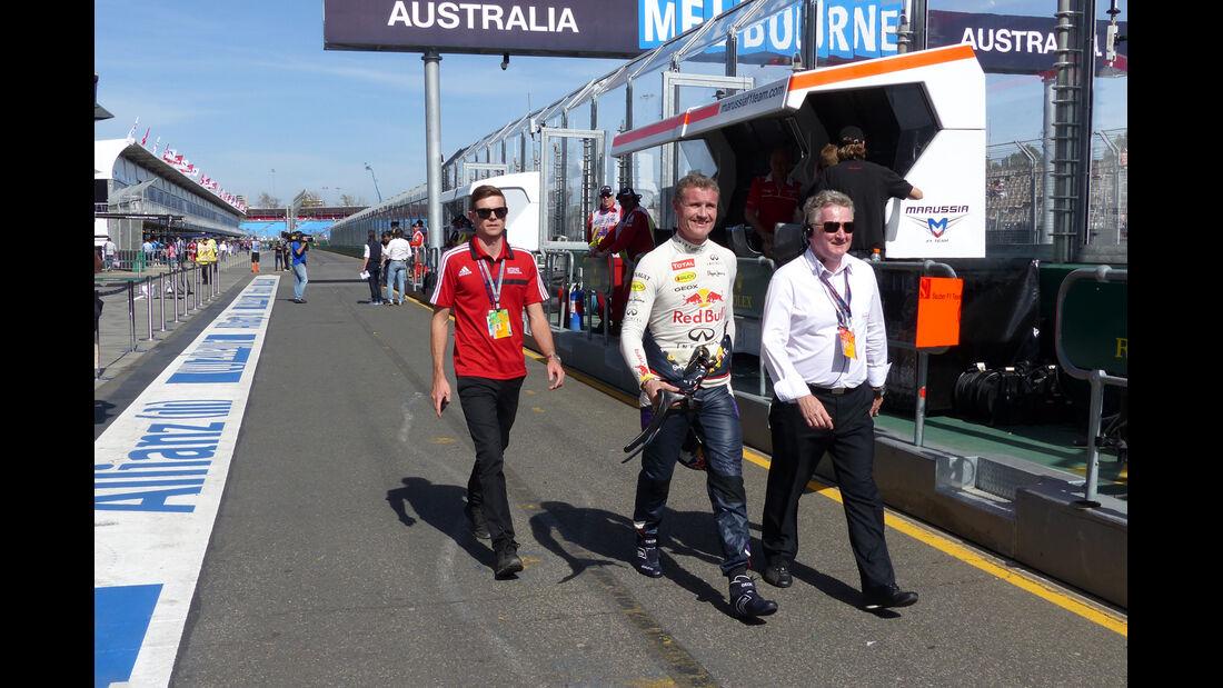 David Coulthard - Formel 1 - GP Australien - 13. März 2014