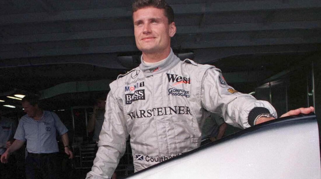 David Coulthard - GP Brasilien 1998