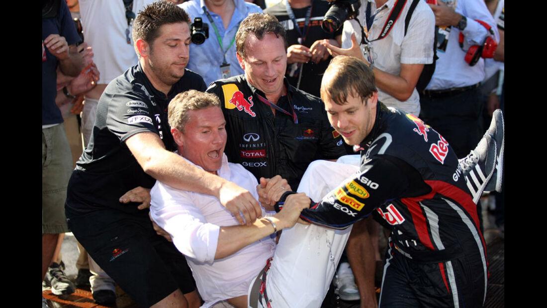 David Coulthard GP Monaco 2011