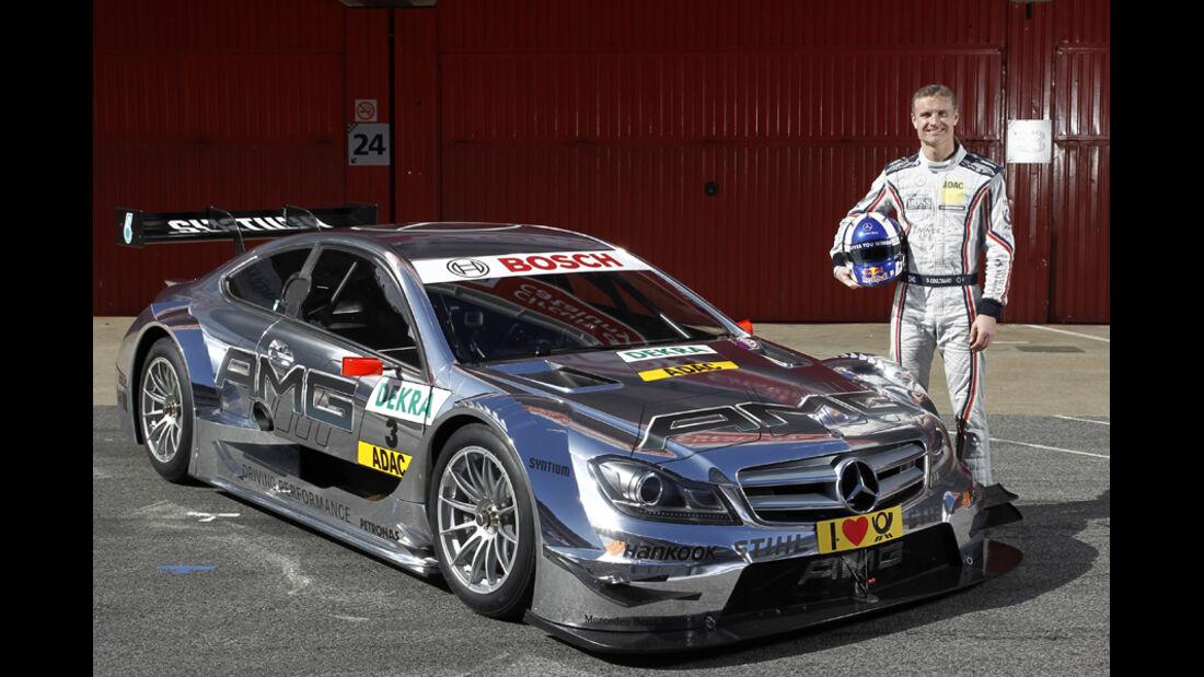 David Coulthard Mercedes DTM 2012