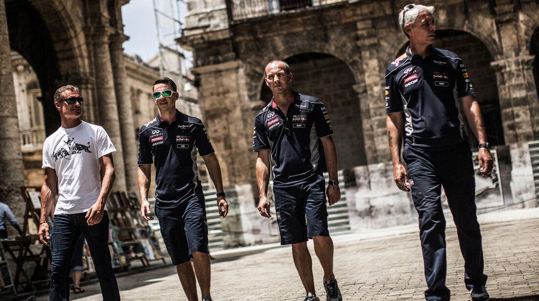 David Coulthard - Red Bull Classic-Cars in Kuba - 2013