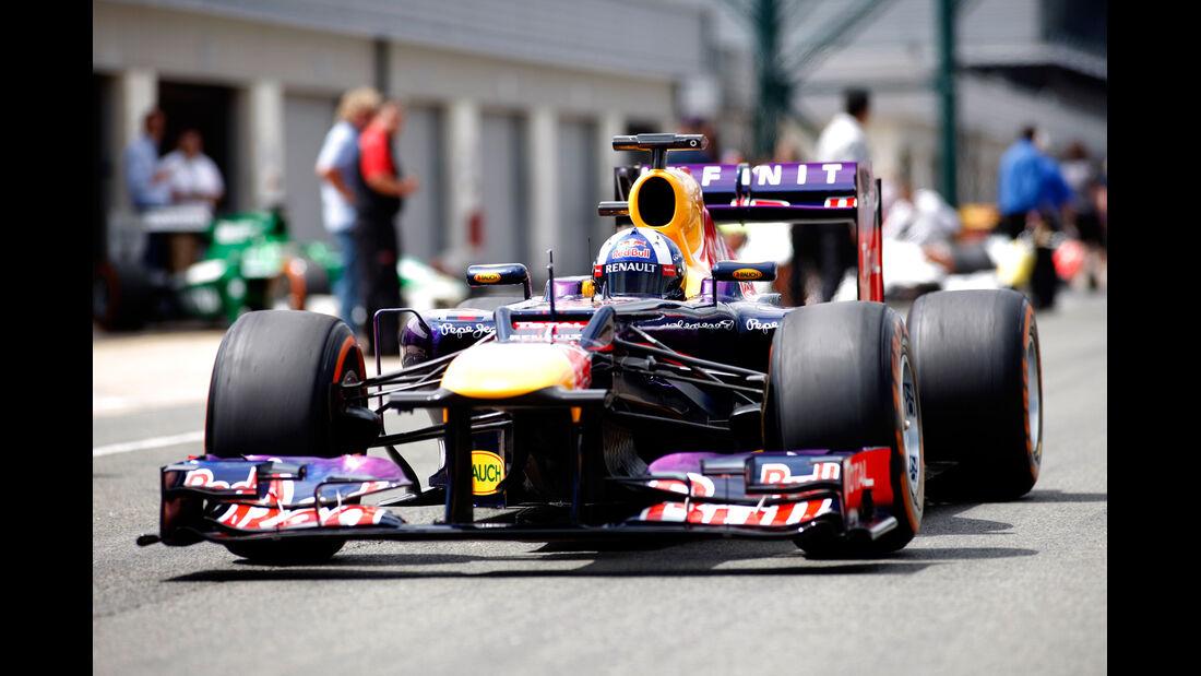 David Coulthard - Red Bull - Formel 1 - GP England - Silverstone - 4. Juli 2014