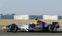 David Coulthard - Red Bull - Test - Jerez 2004