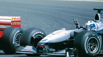 David Coulthard Stinkefinger GP Frankreich 2000