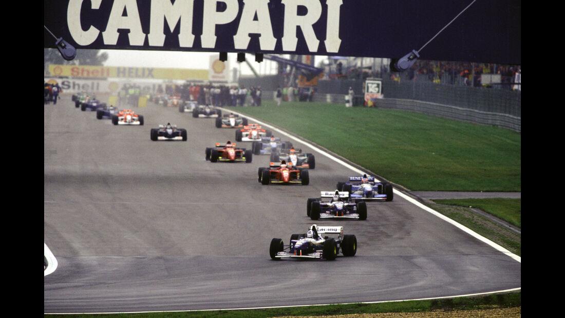 David Coulthard - Williams FW17B - GP Europa 1995 - Nürburgring