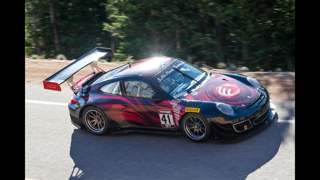 David Donner - 2013 Porsche GT3-R - Pikes Peak International Hillclimb 2016