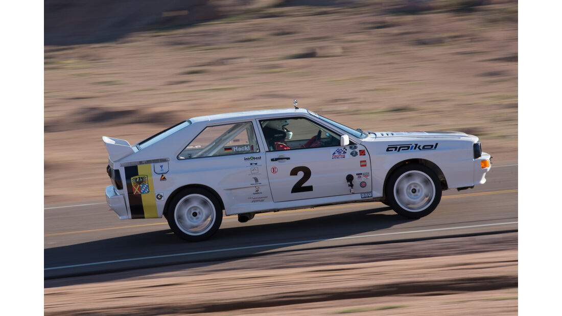 David Hackl - 1983 Audi A1 Quattro - Pikes Peak International Hillclimb 2016