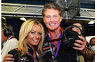 David Hasselhoff - Formel 1 - GP Italien - 7. September 2013