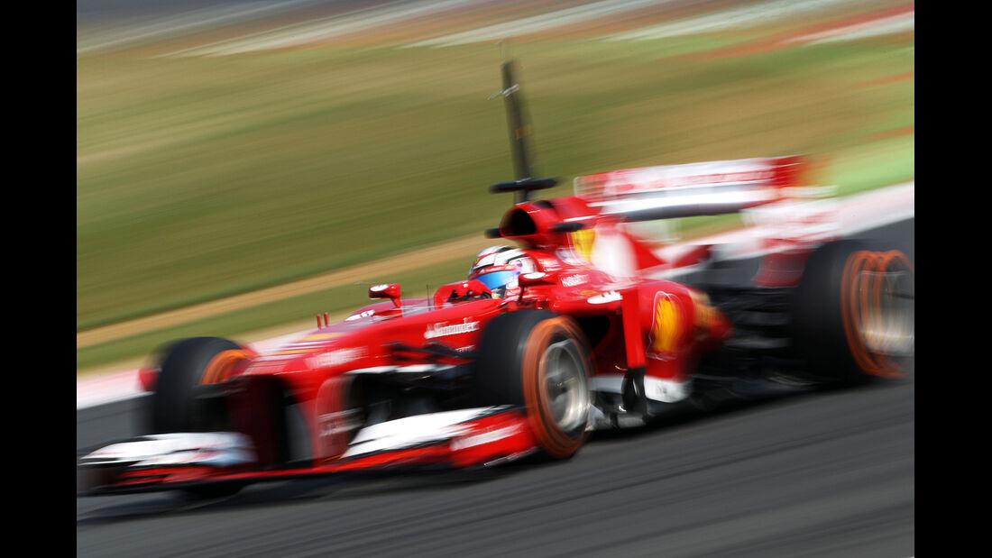 Davide Rigon - Ferrari - Formel 1 - Young Driver Test - Silverstone - 18. Juli 2013