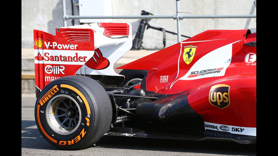 Davide Rigon - Ferrari - Young Driver Test - Silverstone - 17. Juli 2013