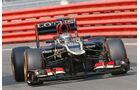 Davide Valsecchi - Lotus - Formel 1 - Young Driver Test - Silverstone - 18. Juli 2013
