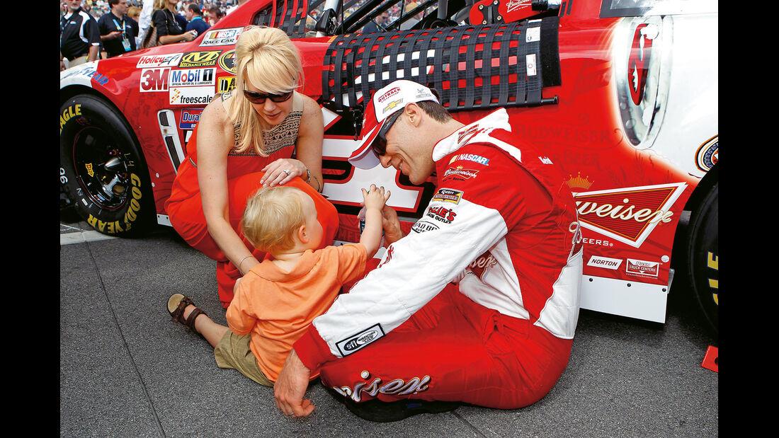 Daytona 500, NASCAR, Kevin Harvick, Familie
