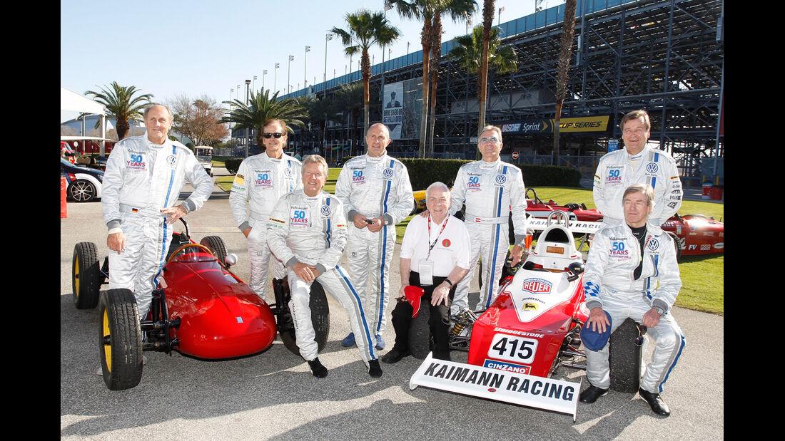 Daytona, Gruppenbild, Fahrer
