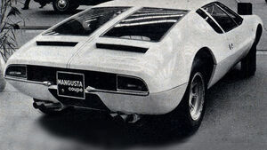 De Tomaso, Mangusta, IAA 1969