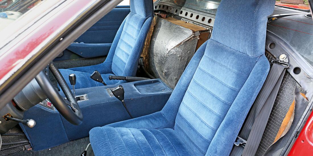 De Tomaso Pantera GR. 4, Fahrersitz