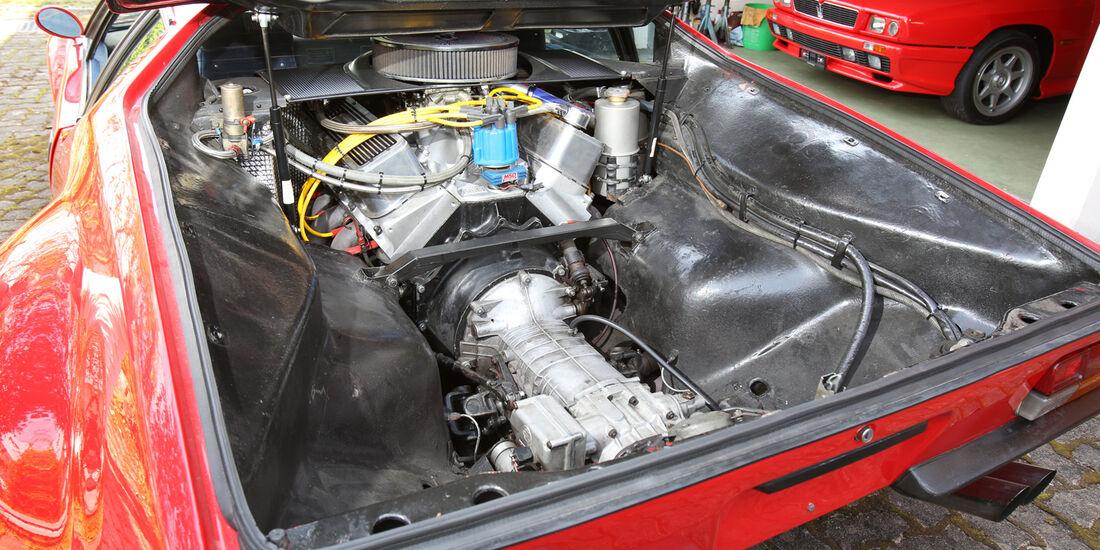 De Tomaso Pantera GR. 4, Motor