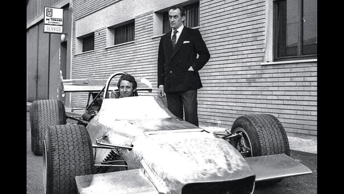 De Tomaso, Rennwagen, Formel 1
