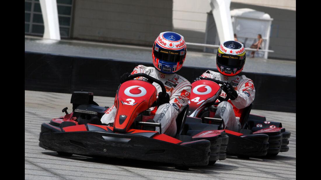 De la Rosa & Button GP Europa 2011