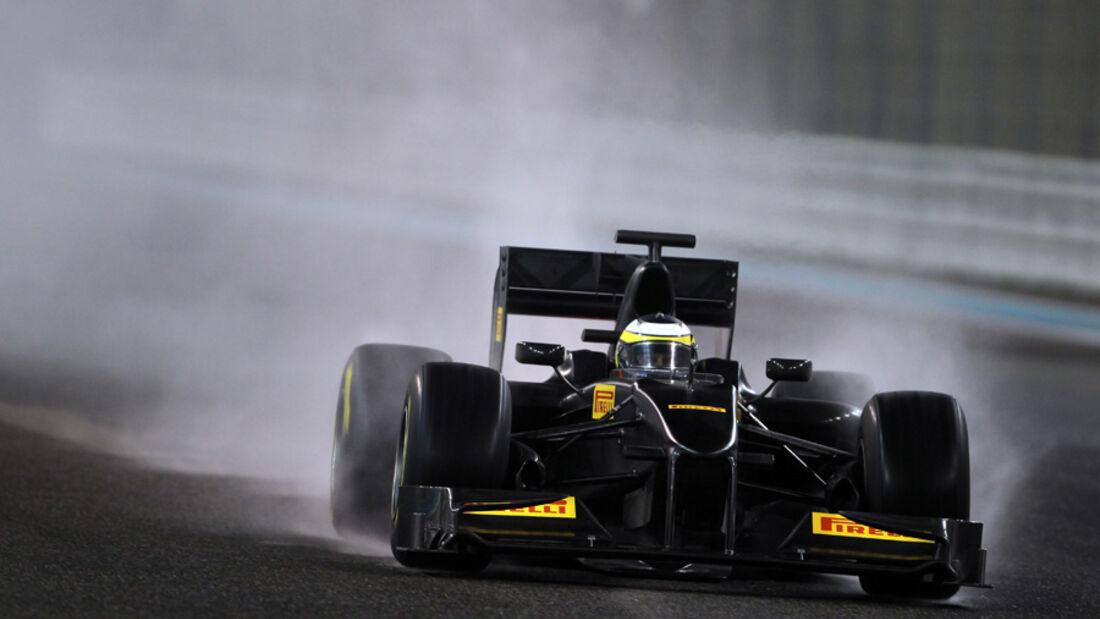 De la Rosa - Pirelli-Test