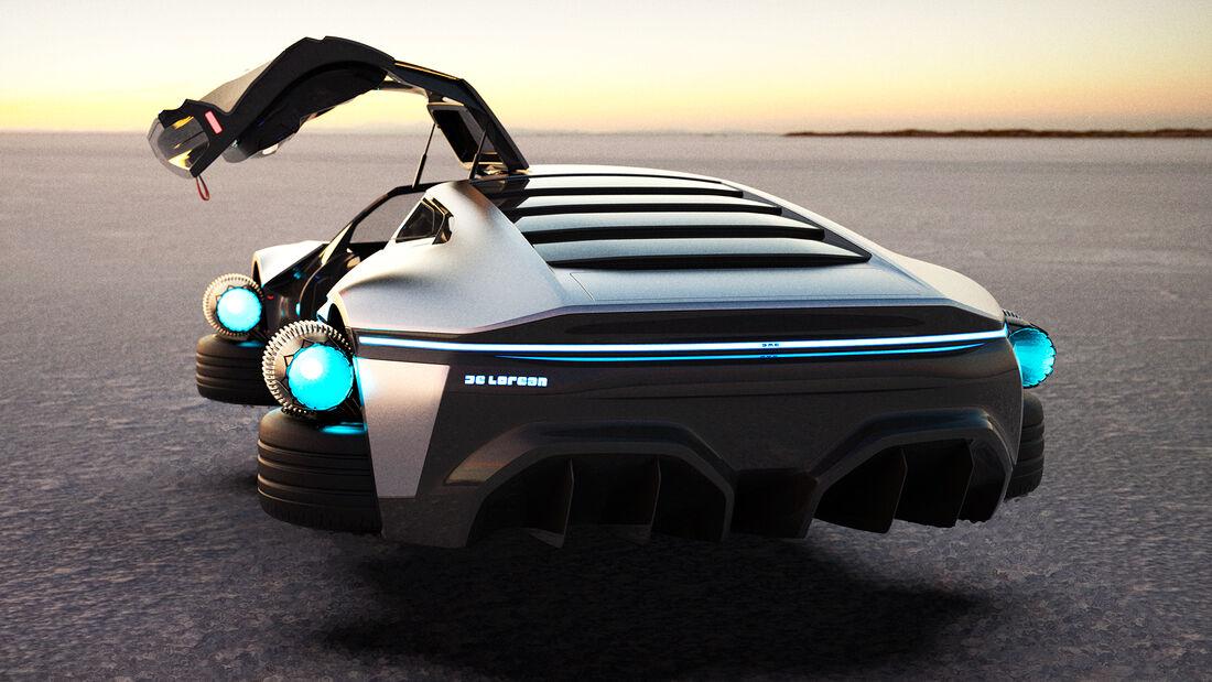 DeLorean 2020 40th Tribute