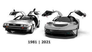 DeLorean 2020 40th Tribute