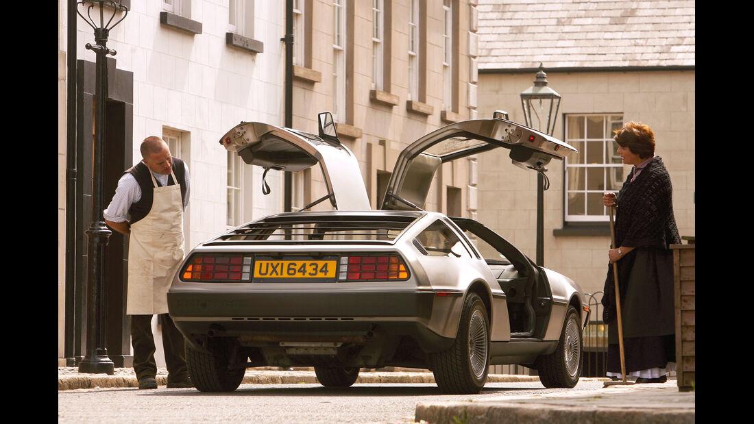 DeLorean DMC 12, Heckansicht