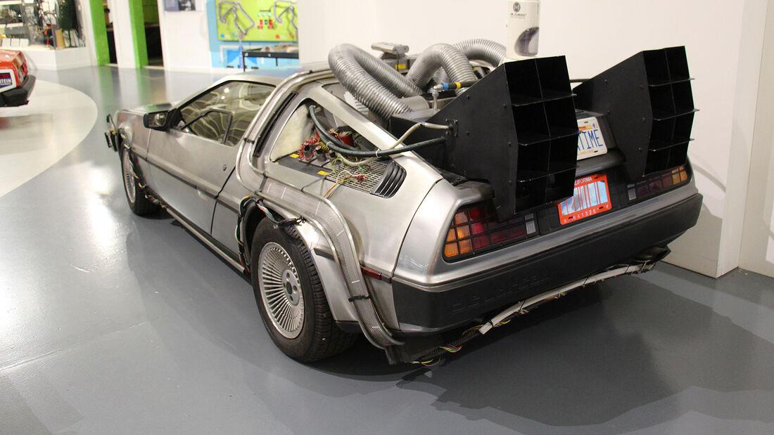 DeLorean DMC-12 Zurück in die Zukunft 2 im British Motor Museum