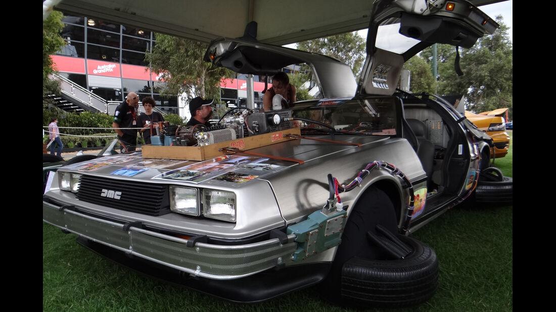DeLorean - GP Australien - Melbourne - 15. März 2012