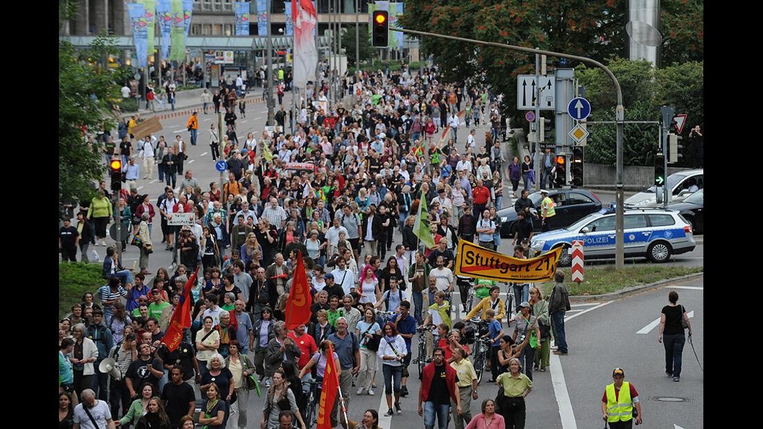 Demonstration Stuttgart 21