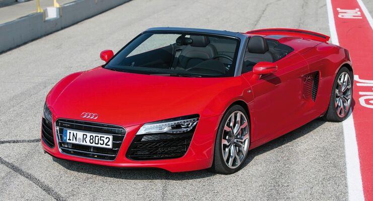 Der Audi R8 könnte künftig im Rahmen von Carsharing nutzbar sein.