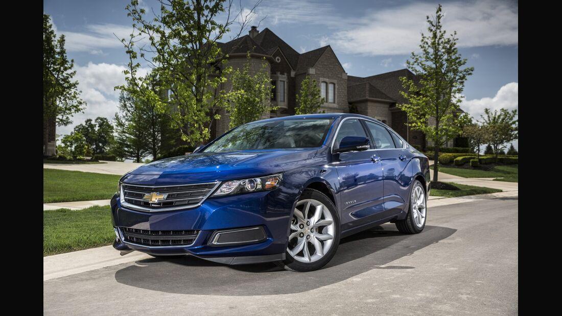 Der Chevrolet Impala ist nur eines der wenigen Modelle, die von der neuerlichen Rückrufserie betroffen sind.