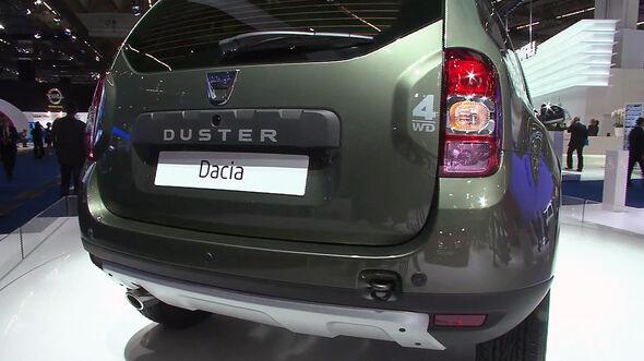 Der Dacia Duster auf der IAA