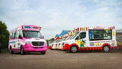Der Eiswagen ist zurück: Aufbauspezialist Whitby Morrison ordert 55 weitere Mercedes-Benz SprinterThe ice cream van is back: specialist bodybuilder Whitby Morrison orders 55 more  Mercedes-Benz Sprinter vans