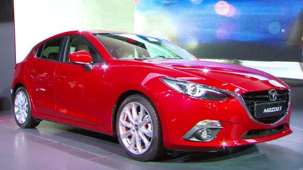 Der Mazda 3 auf der IAA