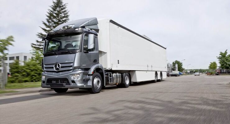 Der Mercedes-Benz Antos