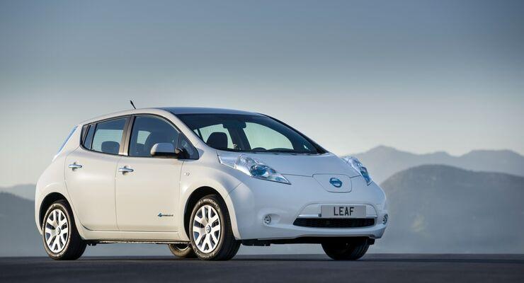 Der Nissan Leaf ist aktuell das meistverkaufte Elektroauto weltweit.