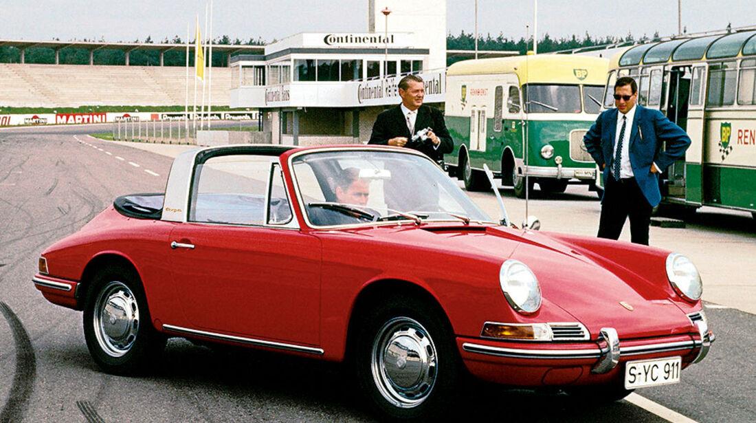 Der erste Porsche 911 Targa, Modelljahr 1967